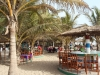 Paradise beach bar at Sanyang