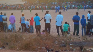 Locals turn out to watch Bijilo's Cup Final